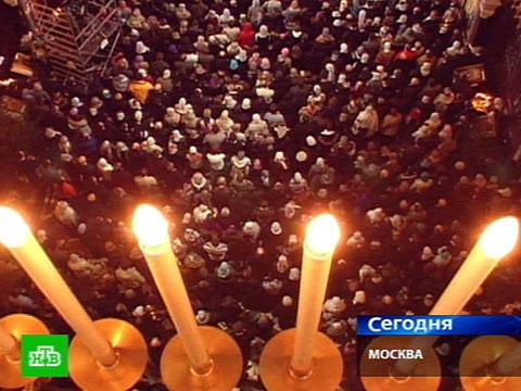 Рождественские богослужения в Москве