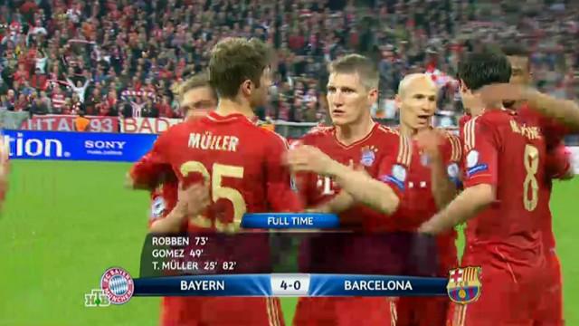 Бавария News: Страшный сон «Барселоны»: «Бавария» унизила испанского